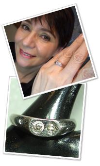 写真:モイラさんの結婚指輪